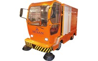 MUSAN Electrically Charged Military Troops Street Sweeper